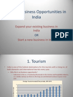 Business Opportunities in India 2013
