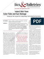 INNOCrodaChromaveil Article a Diester to Protect Hair From Color Fade and Sun Damage May 2009[1]