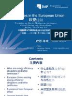RAP Lees ExperiencesintheEuropeanUnion ERIMarketMechanismsWorkshop Beijing 2011-05-25
