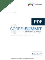 Book Now Godrej Summit in Sector 104, Gurgaon Call @ 09999536147