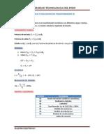 Eficiencia y Regulacion Del Transformador 1
