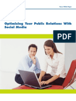 Optimizing Your Public Relations With Social Media