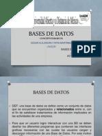 Bases de Datos CATM