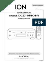 Denon Dcd 1650sr
