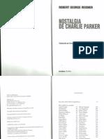 Nostalgia de Charlie Parker- Robert George Reisner (1)