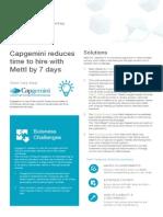 Capgemini Case Study