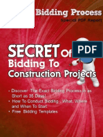 35 Days Bid Procedure for Construction Project