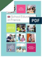 2013 School Education in France 244073