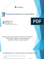 Family Office Co Investing Webinar Axial