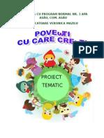 Proiect Tematic Povesti Cu Care Cresti