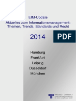 EIM Enterprise Information Management Update 2014 | Handout