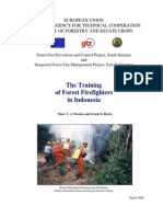 Training the Forest Fire Fighter