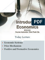 ECO1101 Economic Concepts, Issues and Tools