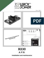 Leroy Somer r230 Automatic Voltage Regulator