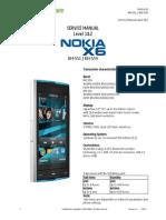 Nokia x6 Service_Manual