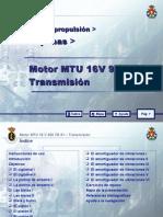 MOTOR MTU 16 V 956 TB 91_03 TRANSMISION
