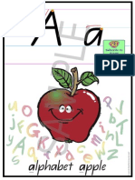 Alphabet Chart QLD Sample