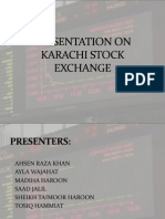Presentation on Karachi Stock Exchange