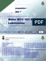 MOTOR MTU 16 V 956 TB 91_06 LUBRICACION