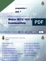 MOTOR MTU 16 V 956 TB 91_08 COMBUSTIBLE