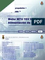 MOTOR MTU 16 V 956 TB 91_09 ALIMENTACION DE AIRE