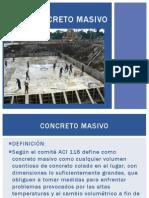 CONCRETO MASIVO