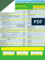 Daihatsu Charade G100 Data book