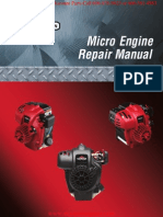 Micro Trimmer Engine Repair Manual BRIGGS & STRATTON