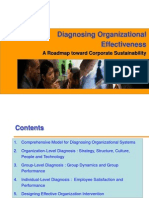 Diagnosing Organizational Effectiveness