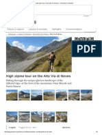 High Alpine Tour on the Alta via Di Neves - Val Pusteria _ Pustertal