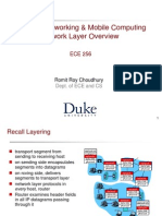 Overview Network Layer