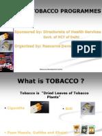 Anti Tobacco Prog