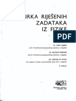 Zbirka Rijesenih Zadataka Iz Fizike - Emil Babic, Rudolf Krsnik, Miroslav Ocko