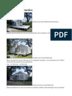 Casas Prefabricadas Propuesta