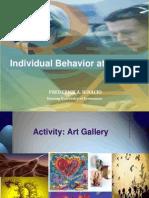 Individual Behavior at Work II