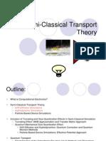 B Drift Diffusion Hydrodynamic Modeling