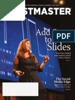Toastmaster Magazine 2014-07