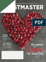 Toastmaster Magazine 2014-02
