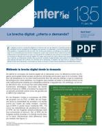 Brecha Digital Oferta o Demanda