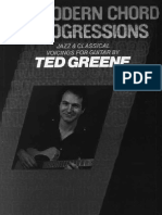 Modern Chord Progressions - Jazz and Classical Voicings for Guitar - Ted Greene
