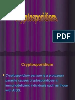 cryptosporidium parvum pdf