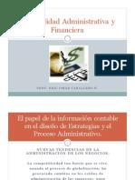 2a El Papel de La Informaciion Contable en El Disenio de Estrategias y El Proceso Administrativo