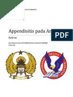 Referat Radiologi - Appendisitis Pada Anak