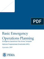 EOP Annex Template