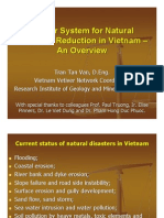Vetiver System for Natural Disasters Reduction in Vietnam – An Overview