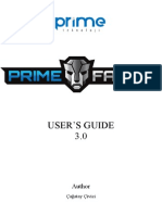 Primefaces Users Guide 3.0