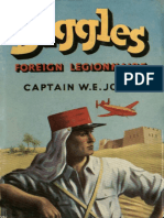 Biggles - Foreign Legionnaire - W E Johns
