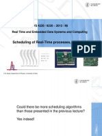 2012-8-2 Scheduling of Real-time Processes