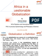 Africa in a Questionable Globalization_by Thierno Guèye_UPMF-UQAM