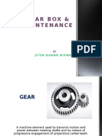 Gear Box & Its Maintenance